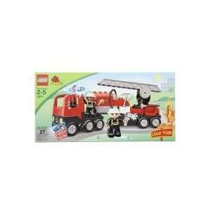 Lego Duplo Ville Fire Truck Toy Building Block Set Toys