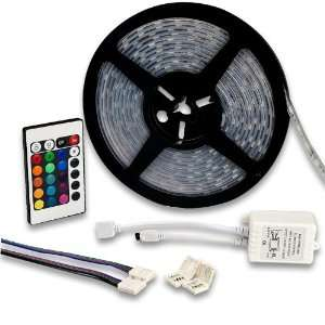 Remote Control RGB Color Changing 300 SMD LED Strip Rope Tube Light