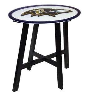 Fan Creations Baltimore Ravens Logo Pub Table