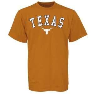 Texas Longhorns Orange Arch Logo T shirt  Sports