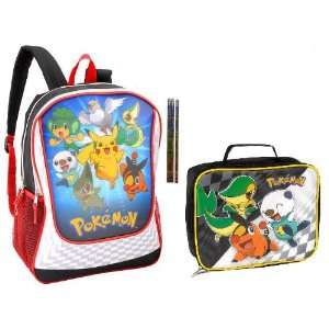 Pokemon Evolution Backpack and Lunch Box Toys & Games