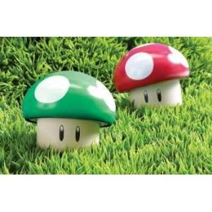Super Mario Bros. Mushroom Tin Sour Candies Set of 2 Toys & Games