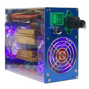 550W Aluminum/Acrylic 20+4 pin ATX PS w/Blue and Red LED