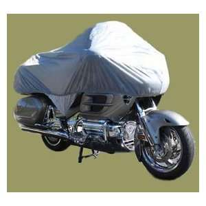 Deluxe Honda Gold Wing Half Grey Motorcycle Cover Automotive
