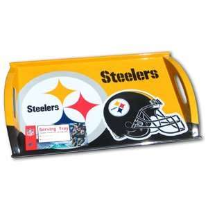 Pittsburgh Steelers Serving Tray   NFL Football Fan Shop Sports Team