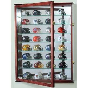 Pocket Pro mini Helmet Display Case Cabinet Holder Rack for MLB NFL