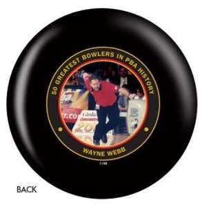 PBA 50th Anniversary Bowling Ball  Wayne Webb: Sports