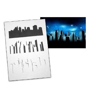 Step by Step Airbrush Stencil Template AS 057 L ca. 9,05