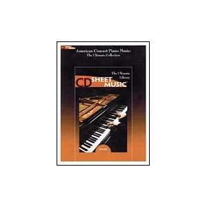American Concert Piano Music (The Ultimate Collection, CD Sheet Music