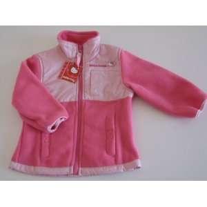Hello Kitty Infants Girl Fleece Jacket 5/6 Pink/Light Pink New Baby