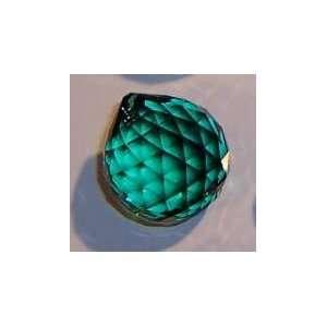 Strass Emerald Green Crystal Ball Prisms #8558 30
