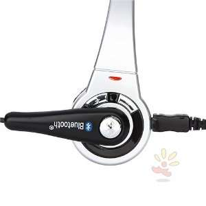 For SONY PS3/PS3 Slim Wireless Bluetooth Headset , Silver