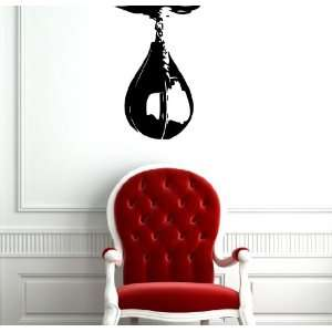 Wall Mural Vinyl Sticker Punching Bag Box Sport A434