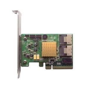 Highpoint Controller Card Rocketraid2720 Sas 6gb/S Pci E 2.0x8 Raid