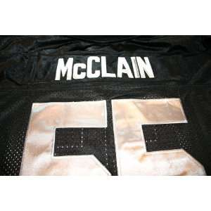 Rolondo McLain Jersey Reebok Oakland Raiders Black (XXLARGE) (Mens