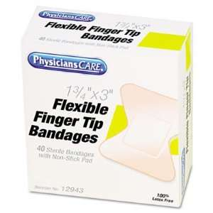 Acme Flexible Large Fingertip Adhesive Bandages ACM12943