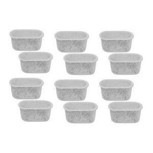 Replacement charcoal water filters, fits DCC RWF 12 PACK.