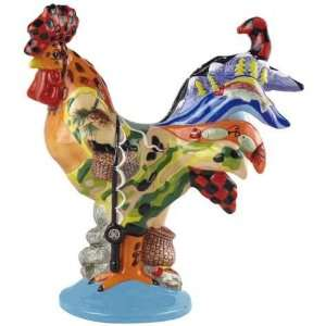 Rocky Mountain Decorated Collectible Rooster Figurine