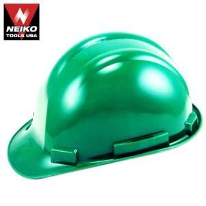 Neiko Tools USA Safety Hard Hat Helmet, Green Home Improvement