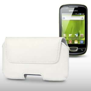 SAMSUNG GALAXY MINI S5570 SOFT PU LEATHER LATERAL ORIENTATION CASE BY