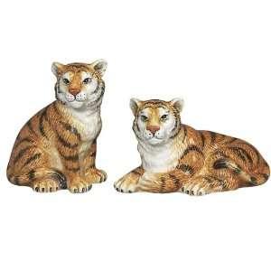 Tigers Big Cat Salt & Pepper Shakers S/P