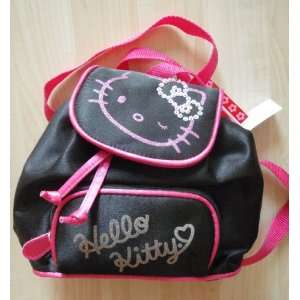 Hello Kitty Black Mini Backpack Toys & Games