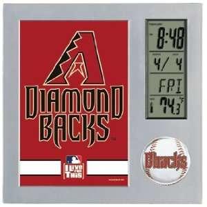 MLB Arizona Diamondbacks Team Desk Clock