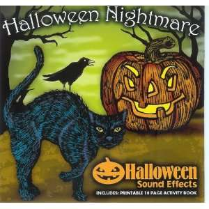 Halloween Nightmare Sound Effects & Activity Print out Music