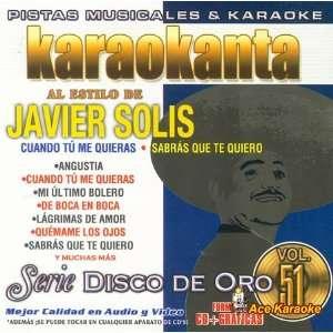 KAR 1751   Javier Solis Spanish CDG Various