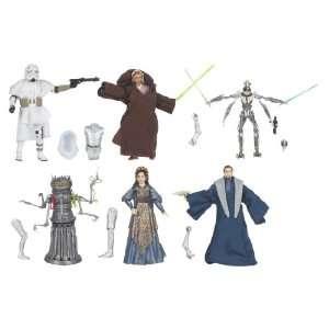 Star Wars Clone Wars Wave 2 Rev1 08 Figures Case Of 12