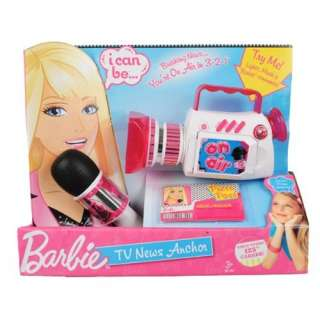 Barbie TV News Anchor : Toys & Games :
