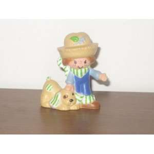 Vintage Strawberry Shortcake Mini Pvc Figure: Everything