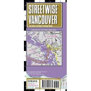 Street Map of Vancouver, Canada (Streetwise (Streetwise Maps)) [Map
