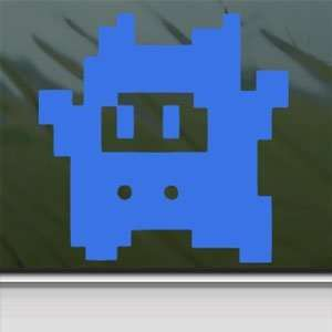 SUPER MARIO Blue Decal NES NINJI NINTENDO Window Blue