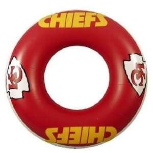 Kansas City Chiefs Inner Pool Float Tube Swim Ring 36 Inner Tube