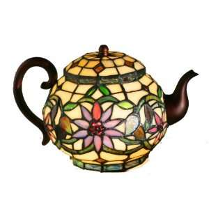 River of Goods 6705 Stained Glass Teapot Home Improvement