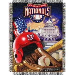 League Baseball Woven Tapestry Throws