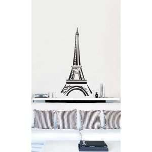 Vinyl Wall Art Decal Sticker Eiffel Tower Decor