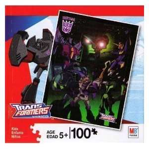 Transformers Animated 100 Piece Puzzle Toys & Games