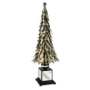 Metallic Acanthus Leaf Christmas Tree  Home & Kitchen