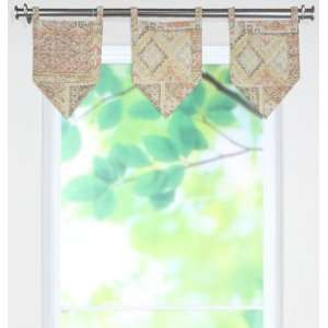 Archaeology Collection Valances   tab top valance, Tagine