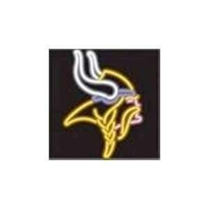NFL Minnesota Vikings Logo Neon Lighted Sign Sports
