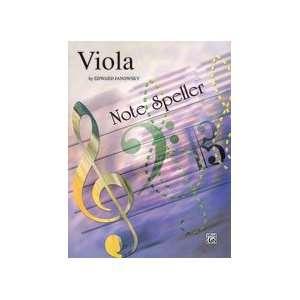 Alfred String Note Speller Viola Musical Instruments