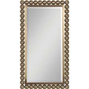 Finish Metal Sphere Frame 38 High Wall Mirror