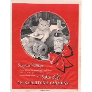 MacNaughtons Canadian Whisky Baby Kitten