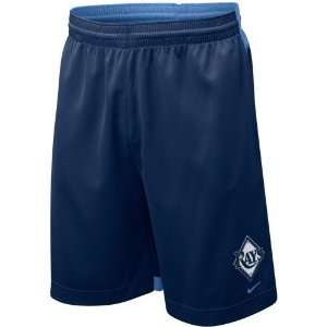 com Nike Tampa Bay Rays Navy Blue Dri FIT Performance Training Shorts