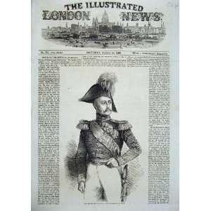 Portrait Emperor Russia War Army Uniform Man Print