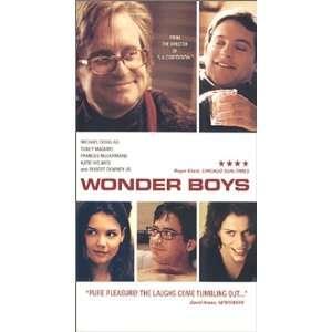 Wonder Boys [VHS] Michael Douglas, Tobey Maguire, Frances