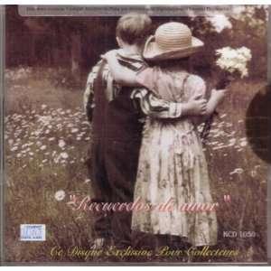 Recuerdos De Amor  Various Artistas, Temas Originales 100 Anos De
