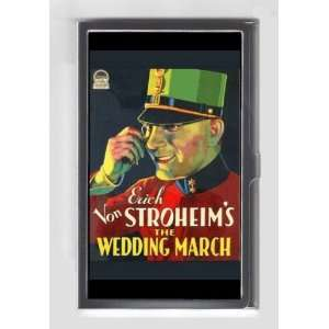 ERICH VON STROHEIM 1928 THE WEDDING MARCH Credit / Business Card Case